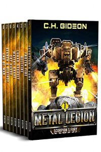 metal legion box set book cover